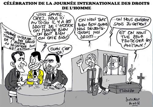 10 décembre - La journée internationale des droits de l'homme  - informacje 3 - Francuski przy kawie