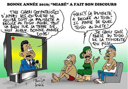 Caricature : Donisen Donald / iberté
