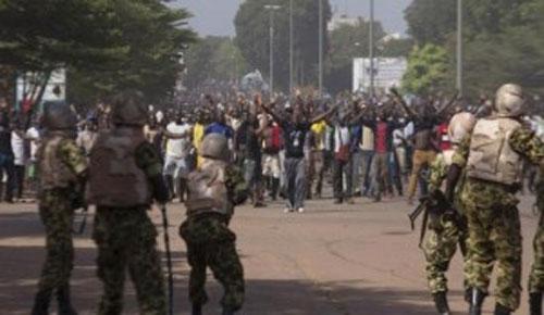 Manifestation réprimée dans le sang à Ouaga
