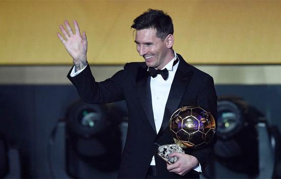 Lionel Messi remporte son 5e Ballon d'Or, un record toujours plus impressionnant. [Valeriano Di Domenico - Keystone]