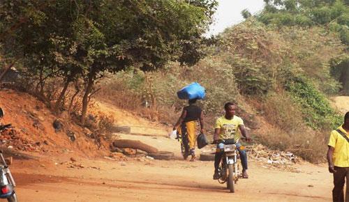 Un point de passage clandestin à la frontière à Tokoin Casablanca ( Lomé) | Photo : Le Canard Indépendant