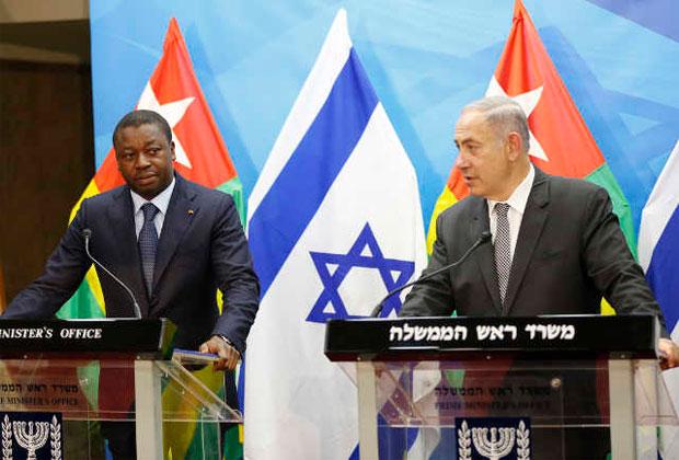Faure Gnassingbé (g) et Benjamin Netanyahu | Photo : RT