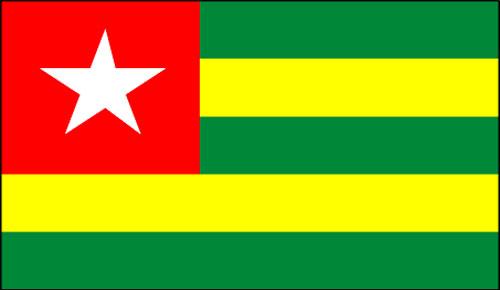 Photo drapeau du Togo utilisée à titre illustratif