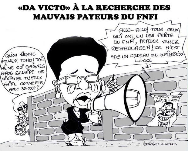 Caricature : DJunion 16 & D. Donald / Liberté
