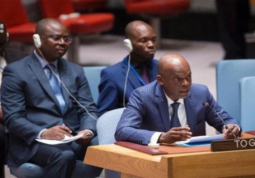 Robert Dussey, le ministre des Affaires Étrangèeres du Togo