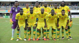 Football: Réserve de la Gambie contre le Togo