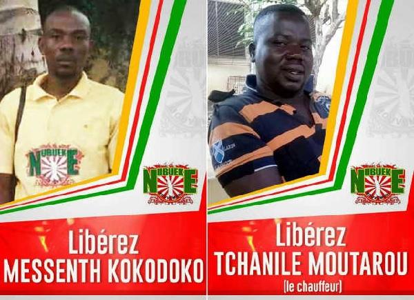 Togo, Grave Atteinte aux droits de l'Homme : Mensan Kokodoko enlevé et torturé au SRI depuis le 19 octobre.