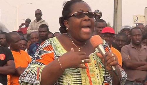 Togo : VIDEOS/ Me Isabelle AMEGANVI fustige la position de la CEDEAO et appelle à la mobilisation du peuple