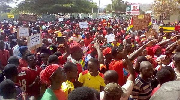 Togo :  échos de manifestations de la diaspora togolaise en Allemagne, aux USA, au Bénin, au Ghana et au Nigeria