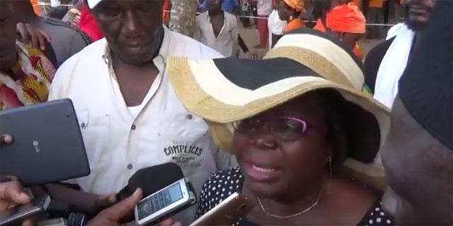 Togo : Mme B.ADJAGBO-JOHNSON»Nous voulons finir ce combat avec notre armée»