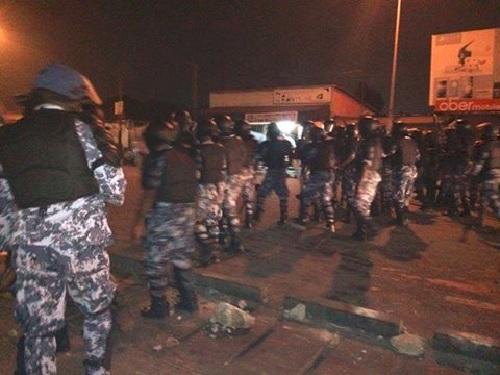 Togo : Les forces de l'ordre de Faure attaquent les manifestants à Sokodé et Bafilo…