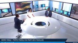 Débat TV5 Monde: Christian TRIMUA affirme que Faure ne partira pas, faut même pas en discuter.