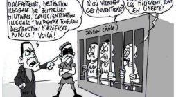 Si vous voulez connaître l'injustice, adressez-vous à la justice togolaise.