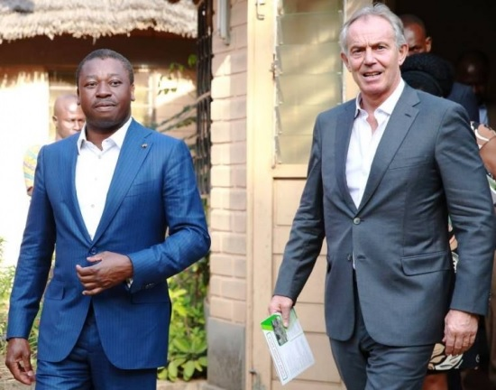 Togo : « Tony Blair Institute », encore une trouvaille…
