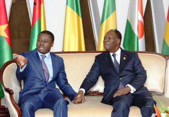 Faure Gnassingbé chez Alassane Ouattara, la crise togolaise au menu des discussions