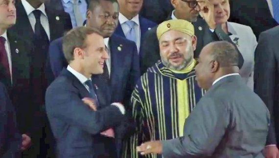 RDCongo/Togo: Macron veut que «le peuple puisse s'exprimer librement»
