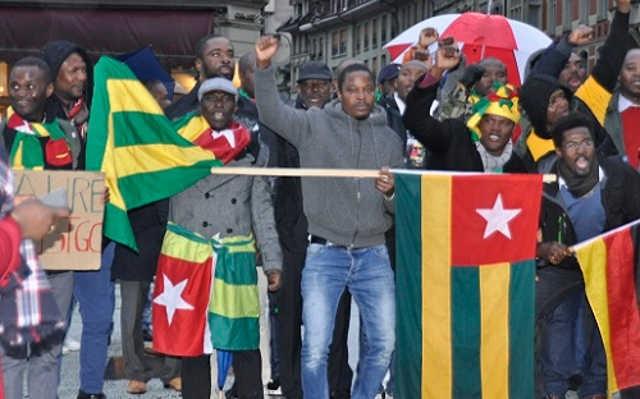 Togo : Échos de la mobilisation de la diaspora Togolaise en Suisse, ce samedi 11 novembre 2017