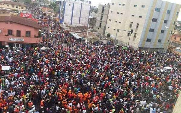 Togo La grande mobilisation pour commémorer l'assassinat de Sylvanus Olympio