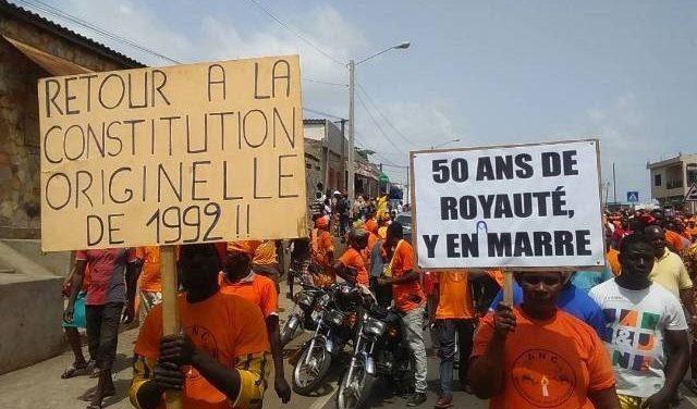 Togo – Une nouvelle mobilisation commence demain…