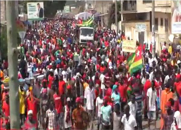 Togo : VIDEO / Encore une marée humaine dans les rues de la capitale du Togo, Lomé