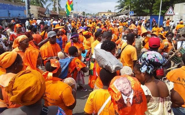 Togo, Mobilisation sans défaillance : Des milliers de Togolais de nouveau dans les rues ce jeudi 16 novembre
