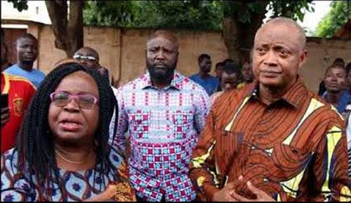 Brigitte Adjamagbo-Johnson: 'Nous irons prêter serment lorsque toutes les conditions seront réunies'