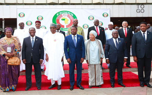 Cédéao: la timide déclaration des dirigeants ouest-africains sur la situation au Togo