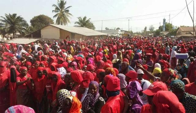 Togo : La coalition manifeste les 13 et 14 juillet prochains à Bafilo, Sokodé et Mango