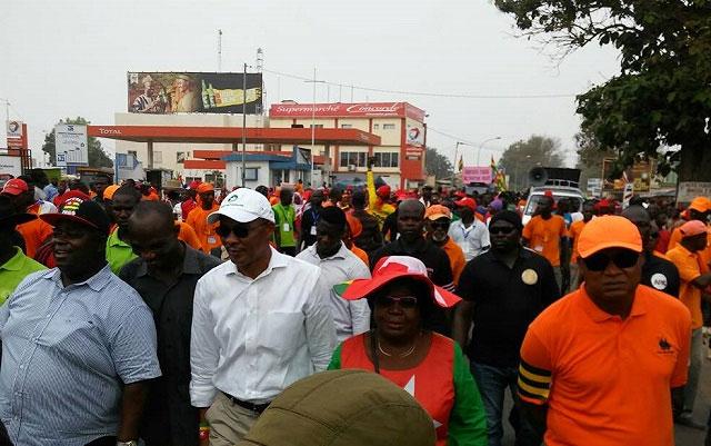 Togo / Echos de la Coalition des 14 : Mobilisation des troupes, de grandes manifestations en perspective