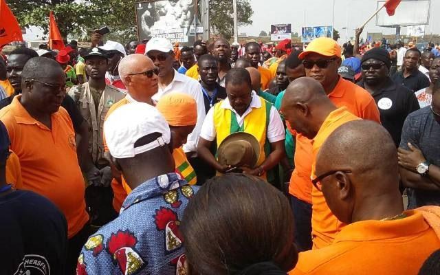 Togo – La marche a démarré à Lomé