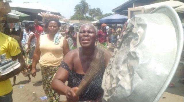 Togo – La «journée de vacarme » au grand marché de Lomé
