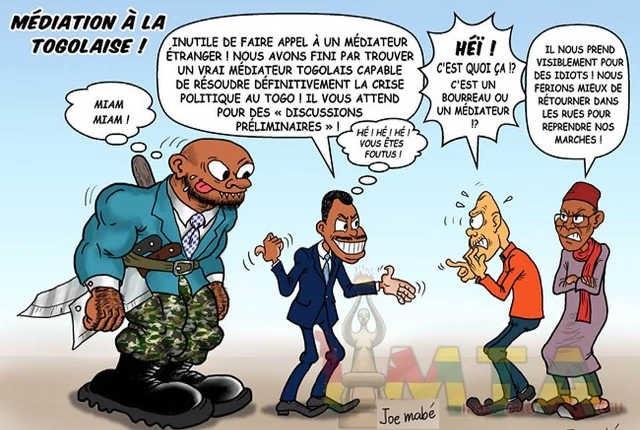 Togo : Le régime Faure/RPT-UNIR envisage toujours de faire un passage en force et imposer son fameux Vrai Faux référendum