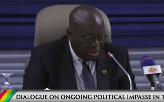 Togo/Video : Le discours du Président du Ghana à l'ouverture du dialogue sur la situation politique du Togo