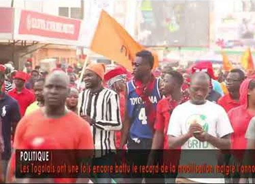 Togo : VIDEO / Les Togolais ont une fois encore battu le record de la mobilisation malgré l'annonce du dialogue