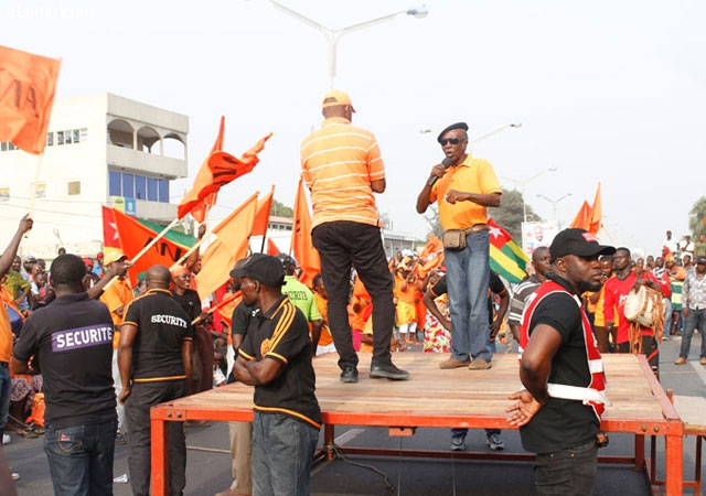 Togo/Manifestations des 25, 26 et 28 avril prochains: le gouvernement impose des itinéraires à la Coalition des 14
