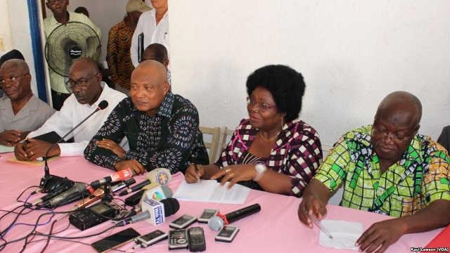 Togo : La Coalition des 14 a reçu une délégation du FCTD ce jeudi matin