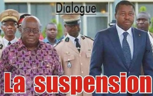 Togo / Dialogue : La suspension avant le fiasco