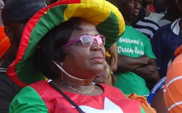 Togo / Brigitte Adjamagbo-Johnson : «70 % des Togolais veulent que Gnassingbé quitte le pouvoir»