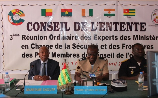 Conseil de l'Entente : La lutte contre les nouvelles formes de criminalité au centre d'une réunion à Lomé