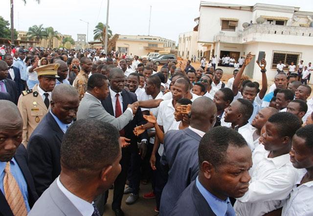 Togo/Santé : Le Président Faure Gnassingbé officialise l'entrée du CHU Sylvanus Olympio dans le processus de contractualisation
