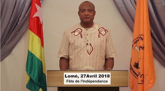 27 Avril 2018 : Message de Jean-Pierre Fabre aux Togolais