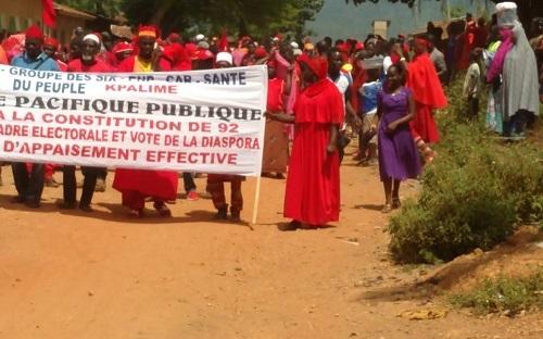 Togo/Manifestations : Kpalimé s'est levé tôt