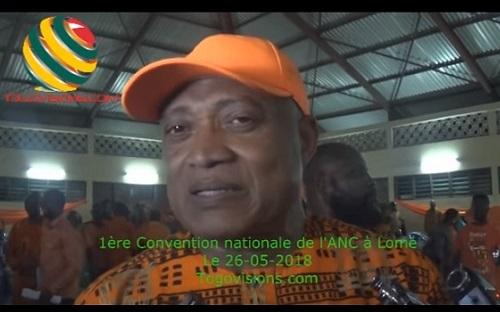 Togo/VIDEO : Jean-Pierre FABRE dévoile le but de la 1ère Convention nationale de l'ANC
