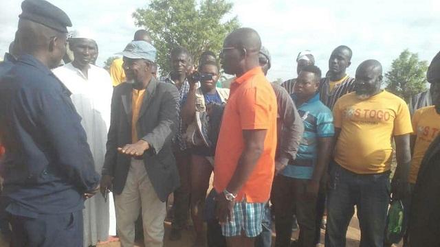 Tournée de l'ANC dans le Nord : Les réfugiés de Mango au Ghana ont rencontré la délégation