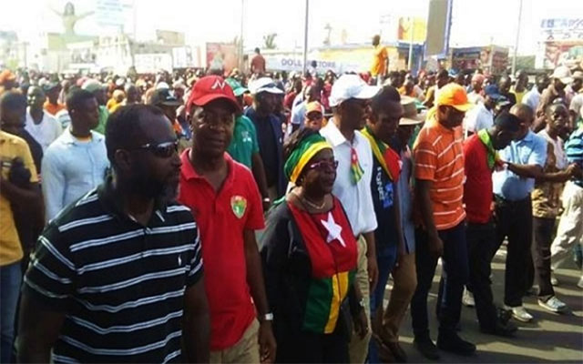 Togo : La Coalition appelle les Togolais à répondre au mot d'ordre de « TOGO MORT » ce lundi