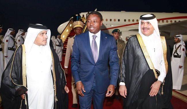 Diplomatie: Faure Gnassingbé au Qatar, pour une « visite de travail et d'amitié »
