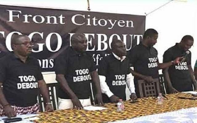 Togo : Le Front citoyen Togo Debout contre la répression policière et militaire
