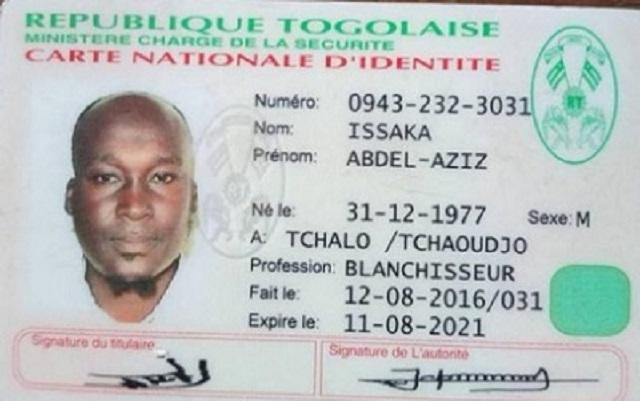 Togo/Comment ce braqueur béninois a-t-il réussi à se faire établir une carte d'identité togolaise valide ?