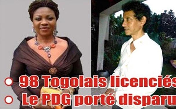 Togo / Scandale : Pomar en liquidation judiciaire ; 98 Togolais licenciés sans indemnités ; le PDG porté disparu