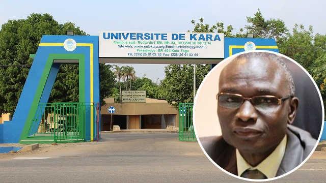 Togo, Danger public à l'Université de Kara : La clôture érigée par le président Komlan Sanda s'effondre…par un simple coup de vent
